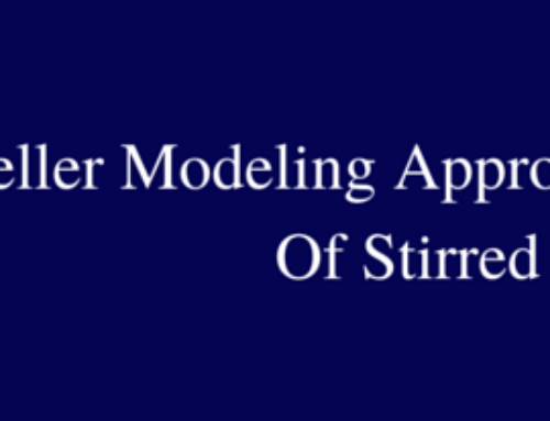 Impeller Modeling Approach For CFD Analysis Of Stirred Vessels